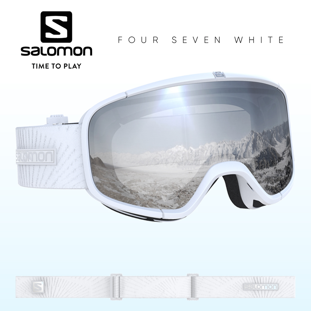 Salomon Four Seven White Síszemüveg